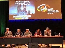 Foto de las XIX Jornadas de Investigación Fundaluce 2017