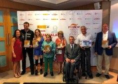 Foto de familia de la entrega de los Premios al Mérito Deportivo Juan Palau 2018