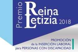 Cartel del PR Letizia 2018 de inserción laboral