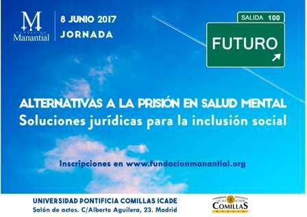 Cartel Jornada Fundación Manantial