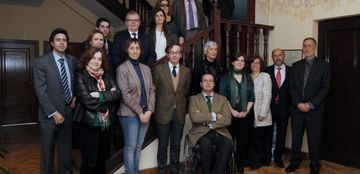 Foto de la reunión constitutiva del Foro de Cultura Inclusiva