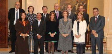 Foto de la entrega de los Premios Reina Sofía 2013