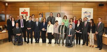 Foto del Pleno del Consejo Nacional de la Discapacidad