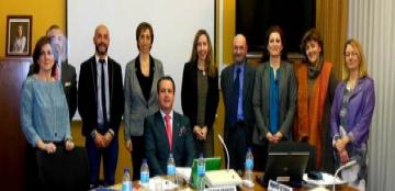 Foto de la reunión del Consejo Rector del CNLSE