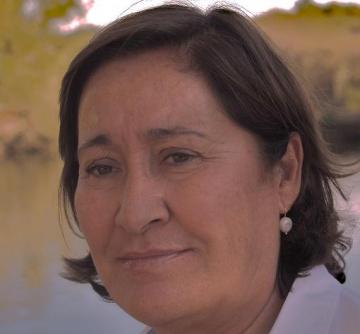 Fotografía de Elvira Villalobos, ex directora del Centro Español de Documentación sobre Discapacidad