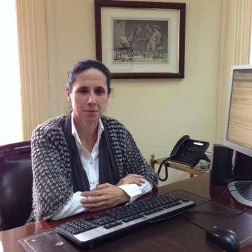 Fotografía de Ana Peláez Narváez, consejera ejecutiva de relaciones internacionales y expansión exterior de ONCE