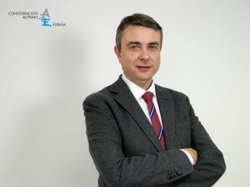Fotografía de Miguel Ángel de Casas, presidente de Autismo España