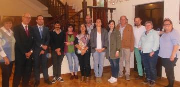 Foto del grupo de trabajo sobre la lengua de signos española en televisión