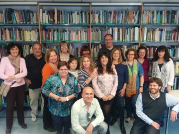 Foto de la sesión formativa sobre documentación y discapacidad