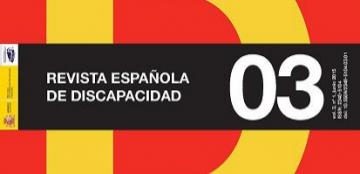 Portada Revista Española Discapacidad volumen 3