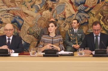 Foto de la reunión del Consejo del Real Patronato sobre Discapacidad