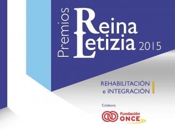 Cartel de los Premios Reina Letizia 2015 de Rehabilitación e Integración