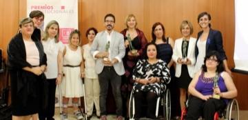 Foto de familia de la entrega de Premios FEBHI