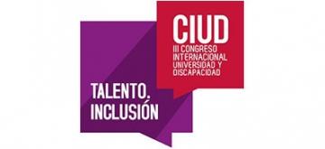 Logotipo III Congreso Internacional Universidad y Discapacidad