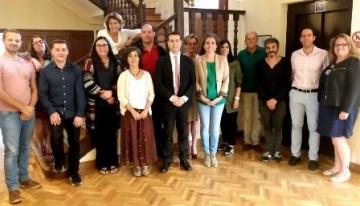 Foto de familia de la reunión del grupo de trabajo