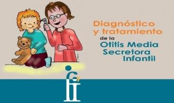 Folleto 'Diagnóstico y tratamiento de la Otitis Media Secretora Infantil'