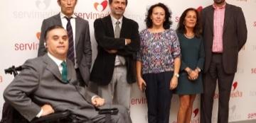 Foto de la presentación de un canal de cursos online sobre accesibilidad y diseño para todos