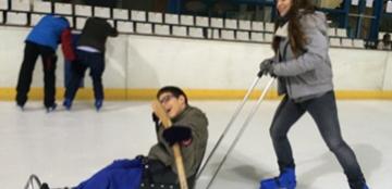 Jornada de patinaje sobre hielo