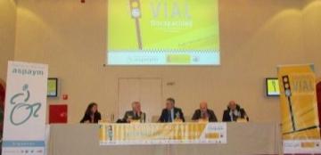 Inauguración del II Congreso Nacional de Seguridad Vial y Discapacidad
