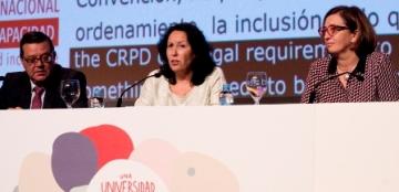 Foto de la jornada de clausura del Congreso CIUD