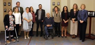 Presentación de la campaña 'Yo tengo Espina Bífida'