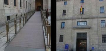 Accesibilidad en el Real Monasterio de San Lorenzo de El Escorial