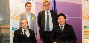 Foto de familia de la presentación del informe ?Compras TIC relacionadas con la Accesibilidad en la Contratación Pública en España?