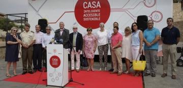 Una casa inteligente y accesible recorre España para impulsar el diseño para todos