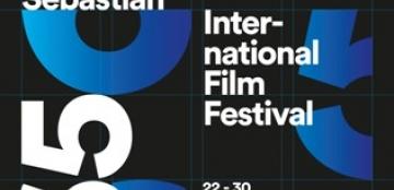 Cartel 65 edición del Festival de Cine de San Sebastián
