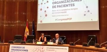 Foto de clausura del I Congreso de Organizaciones de Pacientes