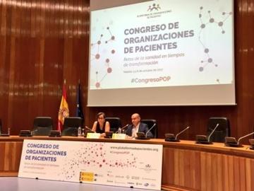 Foto de clausura del I Congreso de Organizaciones de Pacientes 'Retos de la sanidad en tiempos de transformación'