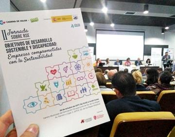 Fotografía de la II Jornada sobre Responsabilidad Social Corporativa del proyecto 'Cadena de Valor' celebrada en San Sebastián de los Reyes