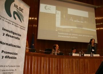 Imagen de la mesa de inauguración del Congreso CNLSE