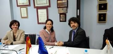 Firma del convenio de la Fundación Cermi Mujeres y el Real Patronato sobre Discapacidad