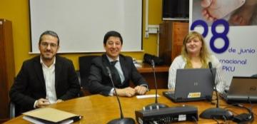 Foto de la presentación del estudio sobre las necesidades sociosanitarias de pacientes con aminoacidopatías