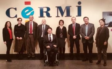 Foto de familia de la reunión de la Comisión de Seguimiento del OED