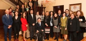 Foto de familia de la presentación de la Convocatoria de Ayudas de la Fundación Solidaridad Carrefour