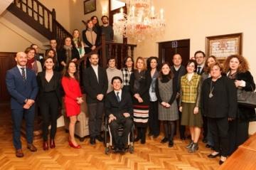 Foto de la presentación de la Convocatoria de Ayudas de la Fundación Solidaridad Carrefour