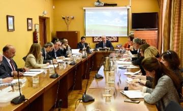 Foto de la reunión del Foro de Cultura Inclusiva