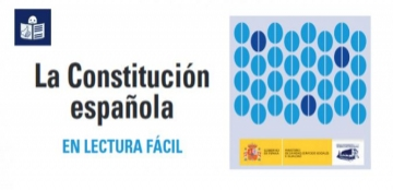 Imagen de la portada de 'La Constitución Española en lectura fácil'