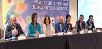 Foto del Congreso 'Pasado, presente y futuro de las organizaciones sobre discapacidad'