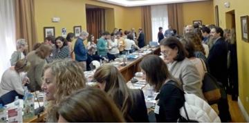 Foto de la jornada de networking solidaria