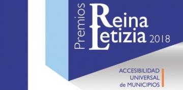 Cartel Convocatoria Premios Reina Letizia de Accesibilidad de Municipios 2018