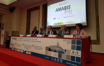 Foto de la inauguración del Congreso AMADIS