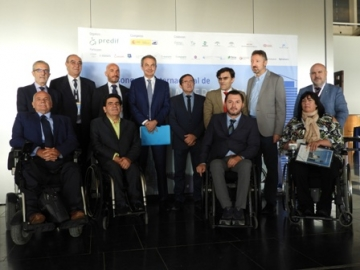 Foto de familia de la inauguración del II Congreso Internacional de Asistencia Personal
