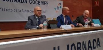 Foto de la inauguración de la Jornada Cocemfe