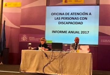 Foto de Carcedo y Celada durante la presentación