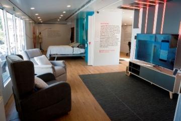 Foto del interior de la casa accesible
