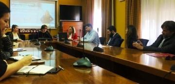 Foto de la presentación del informe ?La accesibilidad en España y Europa?