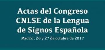 Portada de las Actas del Congreso CNLSE